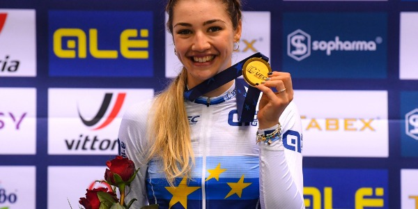 EUROTRACK 2020: SIDI GETS THE GOLD MEDAL IN THE SCRATCH