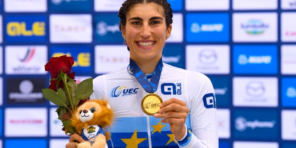 EUROTRACK 2020: ELISA BALSAMO WINS THE OMNIUM. SIDI IS GOLD ONCE AGAIN