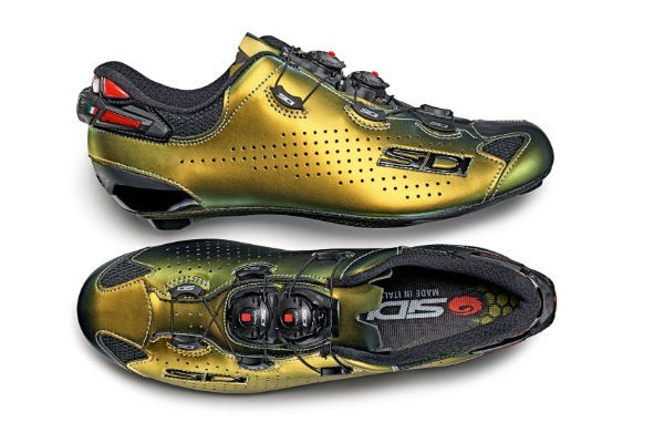 SIDI SHOT 2 GOLD SILVER, A NEW LDT COLOUR TO LEAP INTO 2021